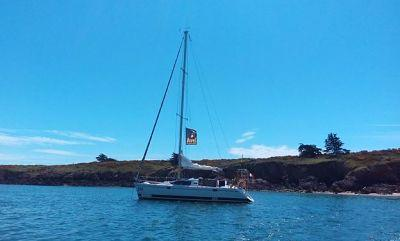 Les îles de la baie de Quiberon en voilier habitable